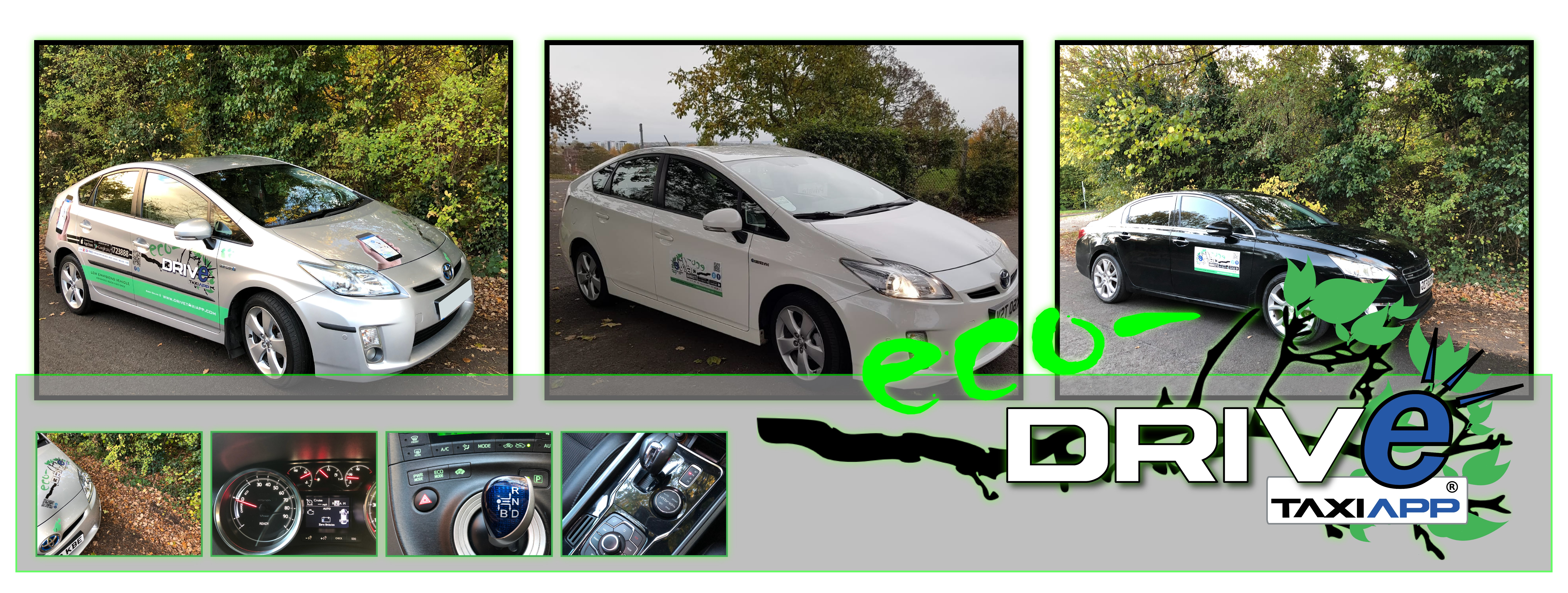 Worcester taxis Eco taxis Hybrid Taxi